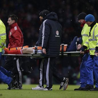 The extent of Steven Fletcher's injury is not yet known