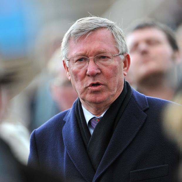 Sir Alex Ferguson is surprised to see the title race is not tight