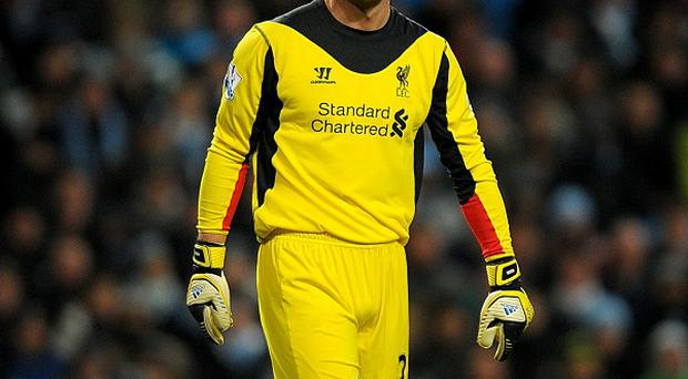 Jose Reina has missed Liverpool's last two games with a calf problem