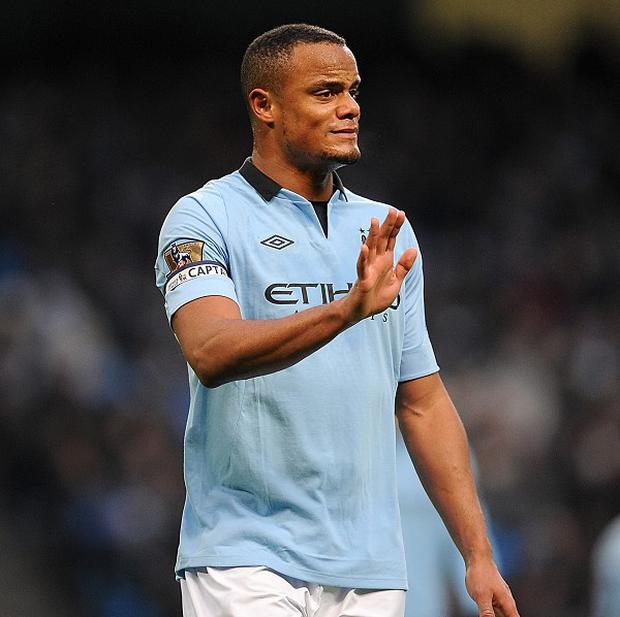 Vincent Kompany is ready to return from a calf problem