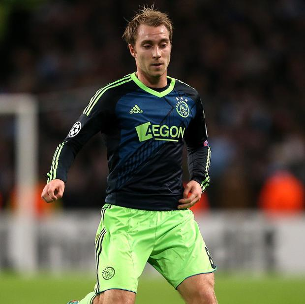 Christian Eriksen's contract situation at Ajax has alerted other clubs