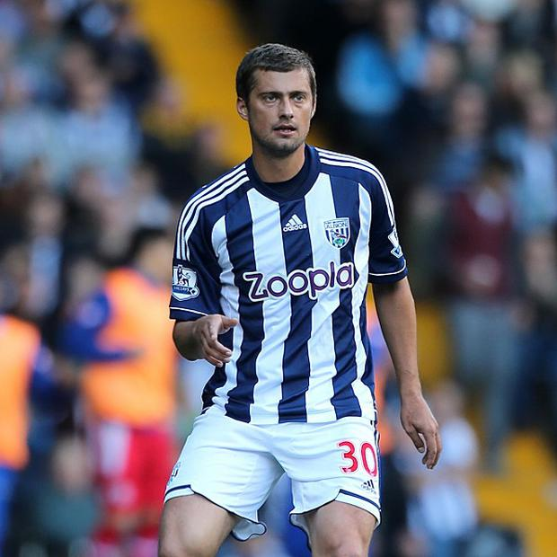 Gabriel Tamas is hoping to stay at West Brom
