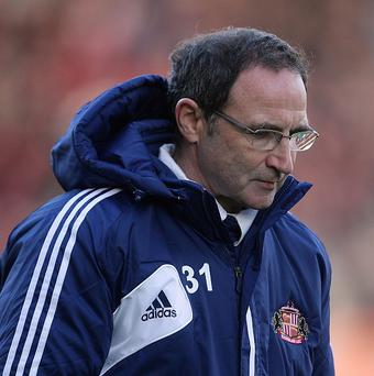 Martin O'Neill has left his position at Sunderland