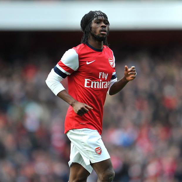Gervinho was in inspiring form as Arsenal defeated Reading