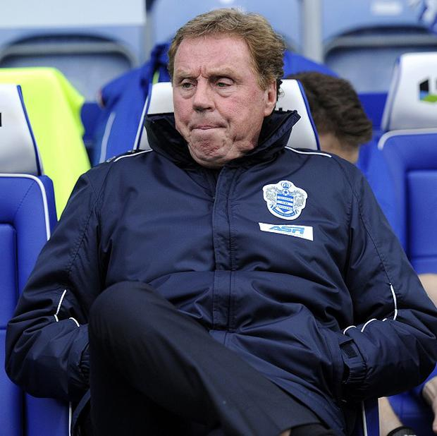 Harry Redknapp believes QPR need to win four of their remaining eight matches to stay up