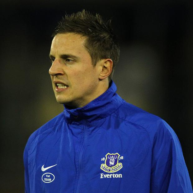 Phil Jagielka is gunning for a Champions League spot