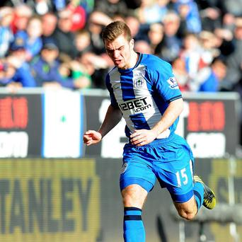 Callum McManaman was given a warm reception by the Wigan fans on Saturday