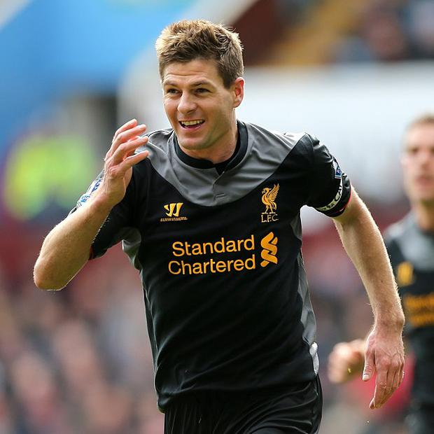 Steven Gerrard's penalty completed a comeback victory for Liverpool at Villa Park