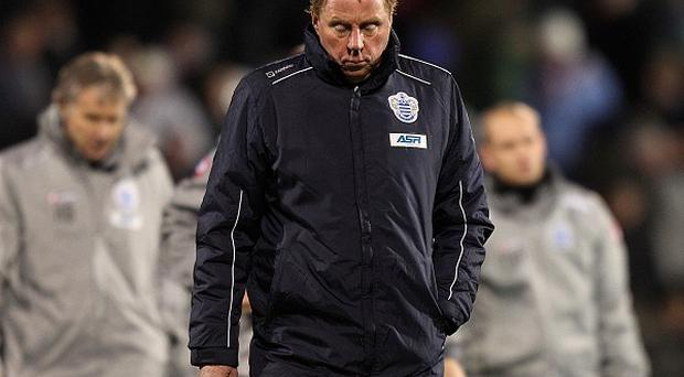 Harry Redknapp's QPR are seven points from safety with seven games remaining