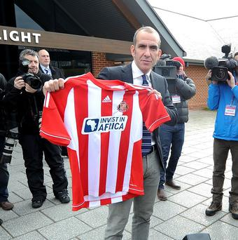 Paolo Di Canio's appointment at Sunderland was confirmed on Sunday
