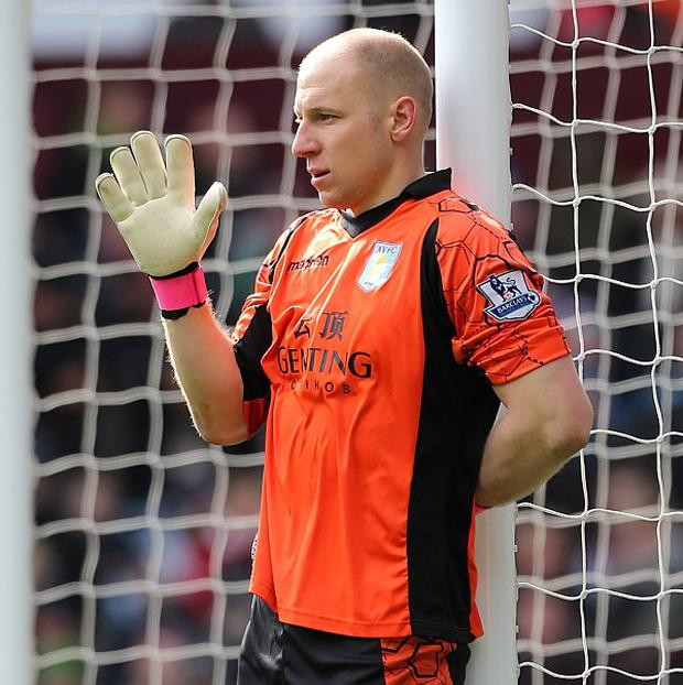 Brad Guzan wants Aston Villa to remain up for the fight