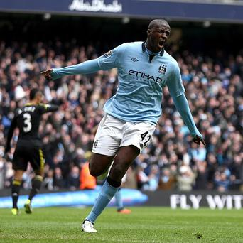 Yaya Toure has signed a new contract with Manchester City
