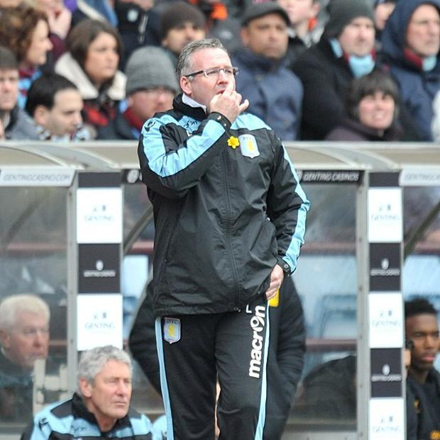 Paul Lambert has backed his youngsters to guide Aston Villa to safety