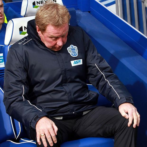 Harry Redknapp thought QPR deserved more than the point they got