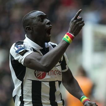 Papiss Cisse netted a late winner for Newcastle