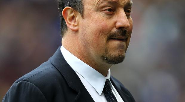 Rafael Benitez has hinted he would like to remain in England with a different club