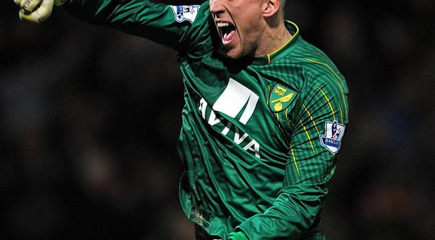 Norwich goalkeeper John Ruddy is closing in on a return to action