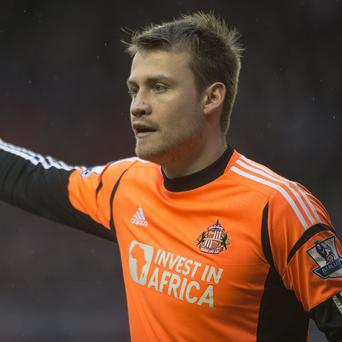Simon Mignolet and his Sunderland team-mates are on the back of a nine-game winless run