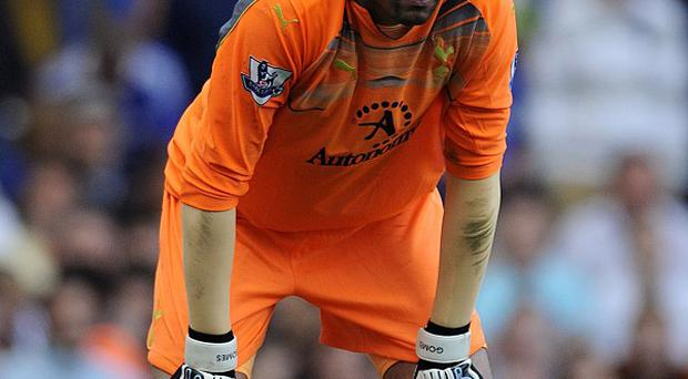 Heurelho Gomes moved on loan after being relegated down the pecking order at Tottenham