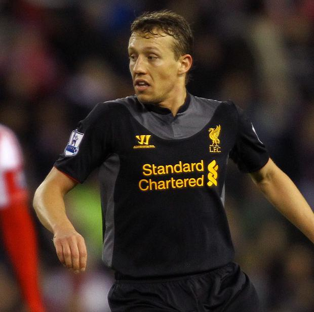 Lucas Leiva still had a further two years to run on the contract he signed in May 2011