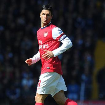 Mikel Arteta equalised before Arsenal took the lead against Norwich