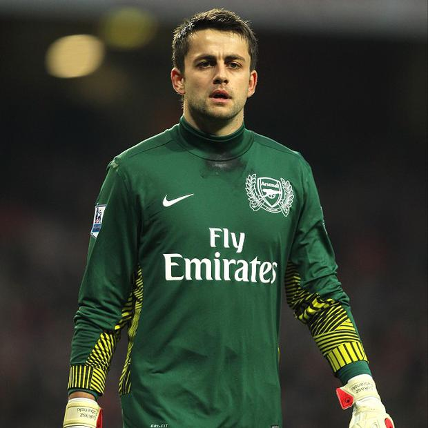 Lukasz Fabianski missed Arsenal's goalless draw with Everton due to a rib injury
