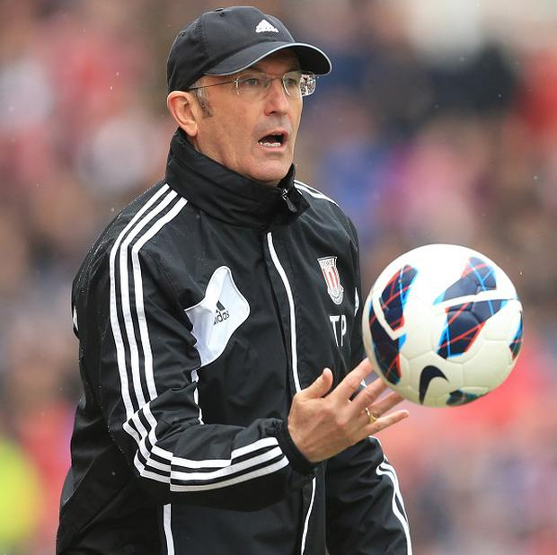Tony Pulis is up for the relegation fight facing Stoke