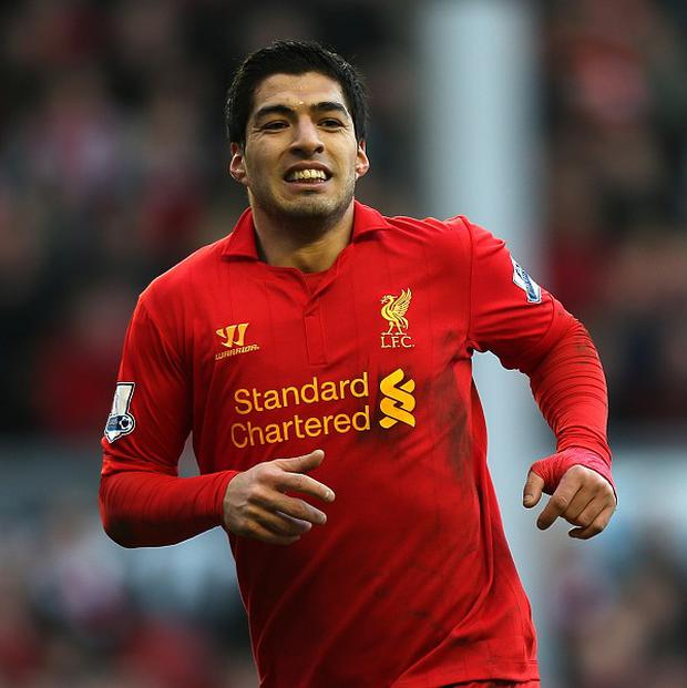 Luis Suarez has scored 29 goals for Liverpool so far this season