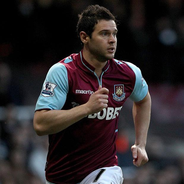Matt Jarvis opened the scoring for West Ham