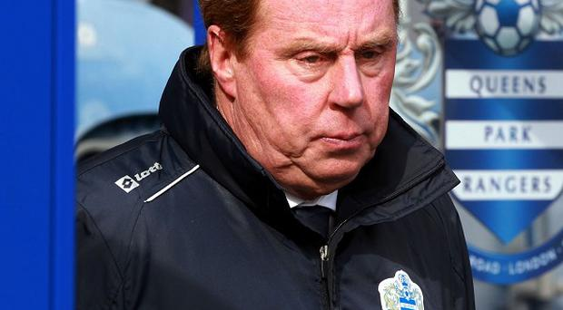 Harry Redknapp's QPR lost to Stoke on Saturday to lessen their chances of staying up