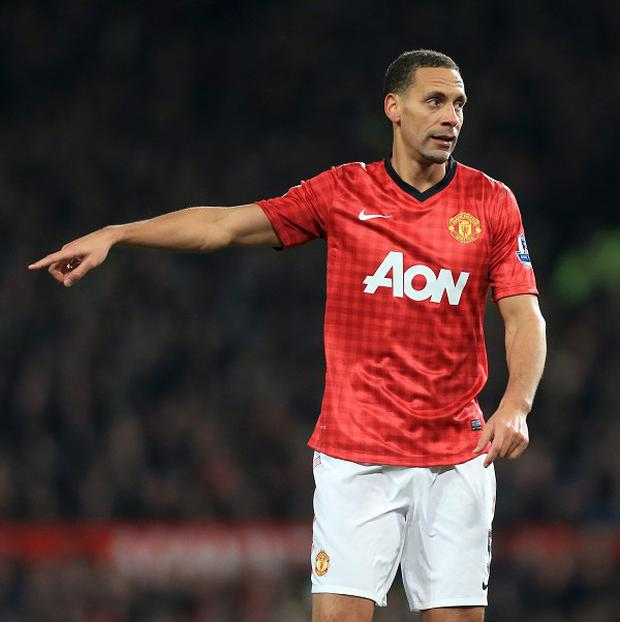 Rio Ferdinand has spent 10 years at Manchester United