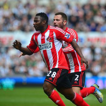 Stephane Sessegnon scored the only goal of the game as Sunderland beat Everton on Saturday