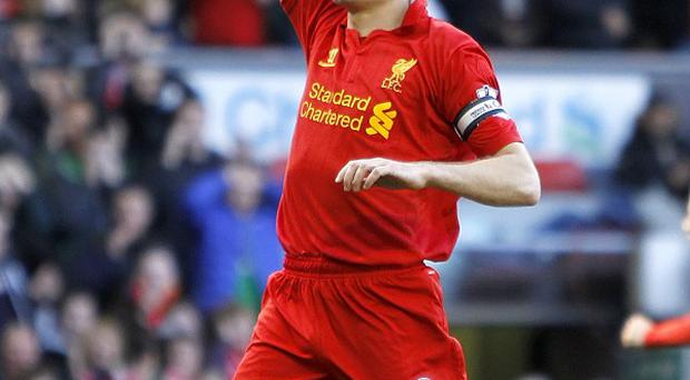 Steven Gerrard has featured in every minute of Liverpool's 34 Premier League matches this season