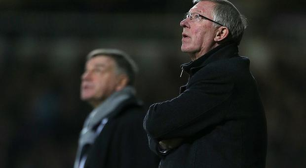 Sam Allardyce says Sir Alex Ferguson is 'the master' and Manchester City will struggle to match their city rivals with him in charge at Old Trafford