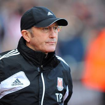Stoke City manager Tony Pulis has insisted he is not walking away from the Britannia