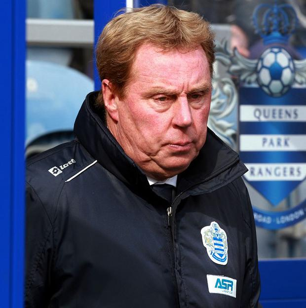Harry Redknapp is already planning for life in the Championship