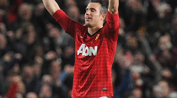 Robin Van Persie will return to the Emirates Stadium with Manchester United this weekend