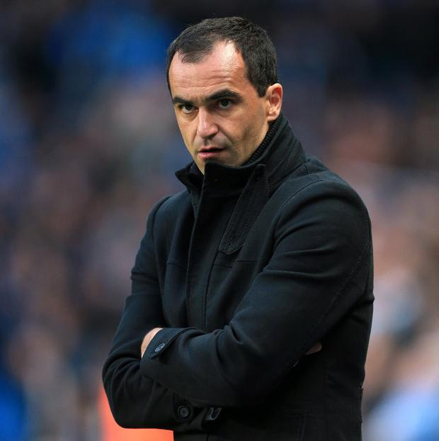 Roberto Martinez's Wigan would have moved out of the relegation zone had they won
