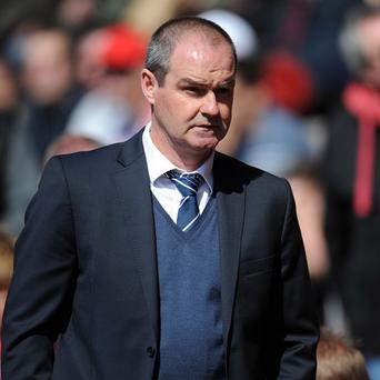 Steve Clarke was keen to focus on West Brom's performance rather than the referee's decisions