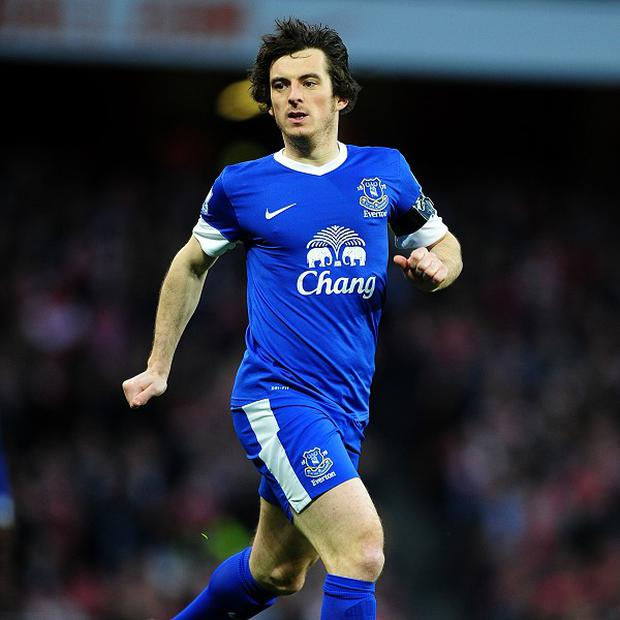 Leighton Baines says Everton are glad Suarez won't be lining up against them in next week's Merseyside derby
