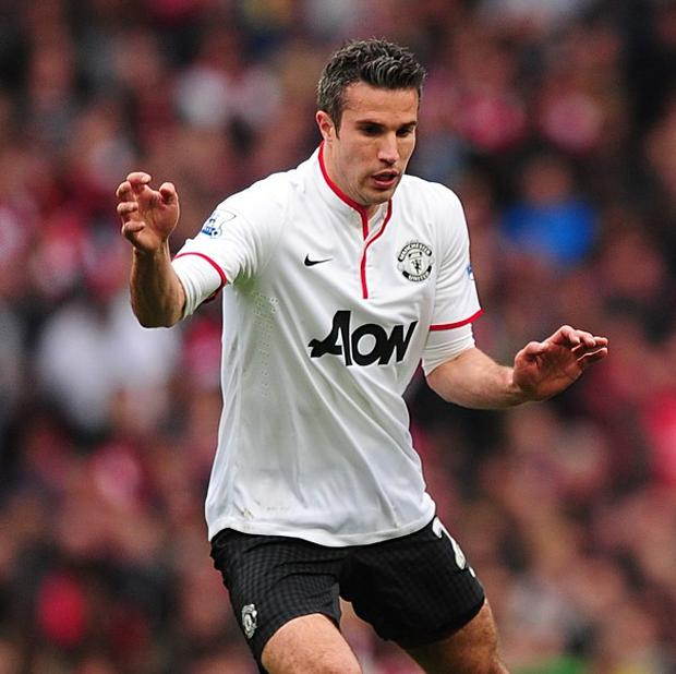 Robin van Persie was not surprisingly named in the PFA Team of the Year