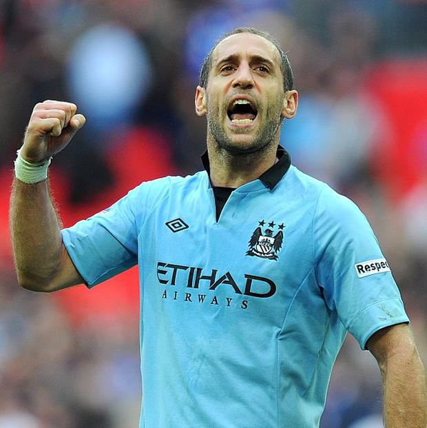 Pablo Zabaleta wants to end the season by winning the FA Cup