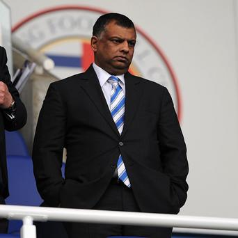 Tony Fernandes, pictured, confirmed that Harry Redknapp would stay on as QPR manager