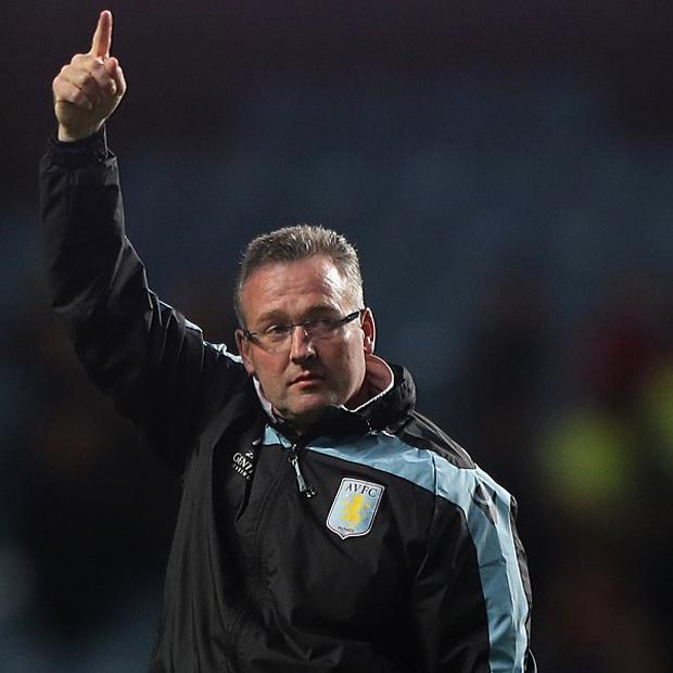 Paul Lambert wants Aston Villa to put Monday's victory to the back of their minds