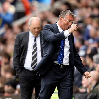 Martin Jol, left, wants to see his side develop a new mentality