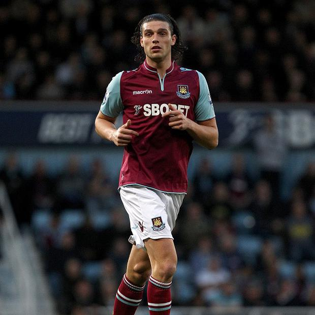 Andy Carroll joined West Ham on loan from Liverpool