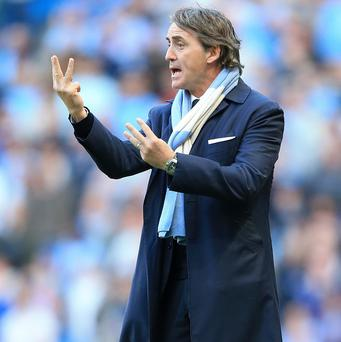 Roberto Mancini made eight changes with Saturday's FA Cup final against Wigan in mind