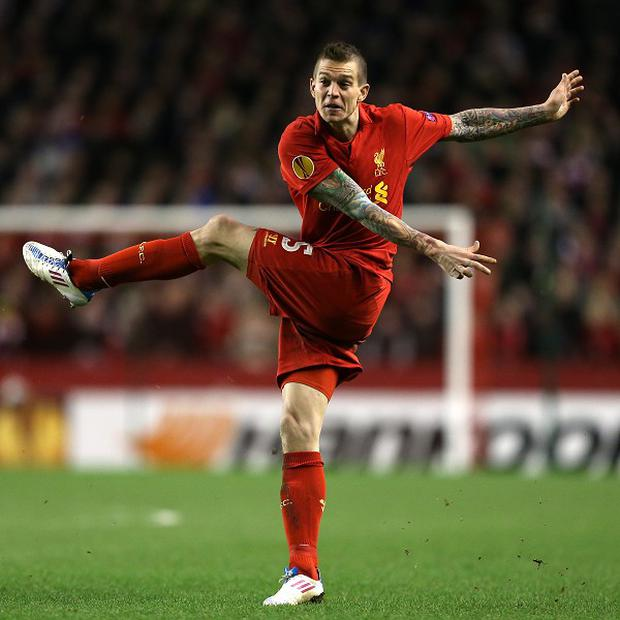 Daniel Agger joined Liverpool in 2006
