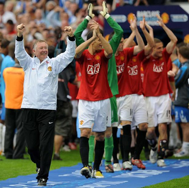 Sir Alex Ferguson won his 49th trophy in Manchester United's 20th league championship