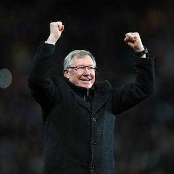 Sir Alex Ferguson's announcement was a social media sensation